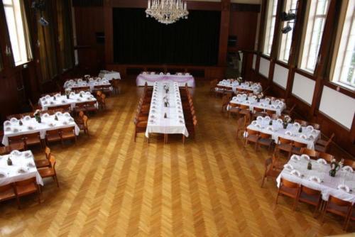 Hochzeit Einzeltisch Saal